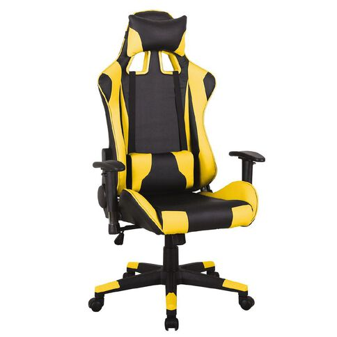 Workspace Gaming Chair Black/Yellow