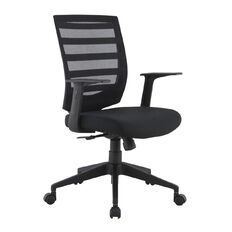 Workspace Mistral Meshback Chair Black