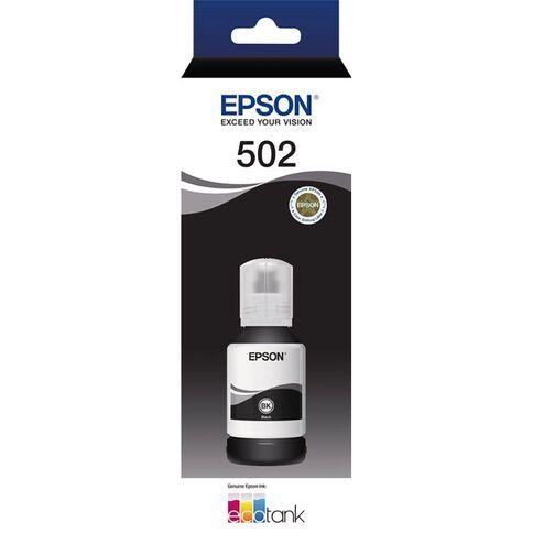 Epson T502 Ink Black
