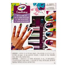 Crayola Creations Metallic Nail Design Kit