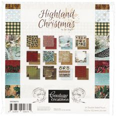Couture Creations Paper Pad 6in x 6in 24 sheet