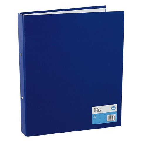 Impact Ring Binder PVC Blue A4