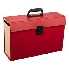 WS Concertina File 19 Pocket Red