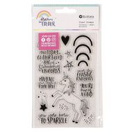 Rosie's Studio Dream In Colour Clear Stamps