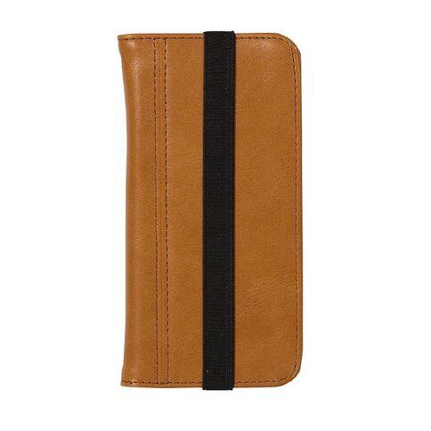 Tech.Inc iPhone 6/7/8 Flip Case Brown