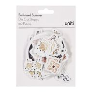 Uniti Sunkissed Summer Cardstock Die Cut Shapes