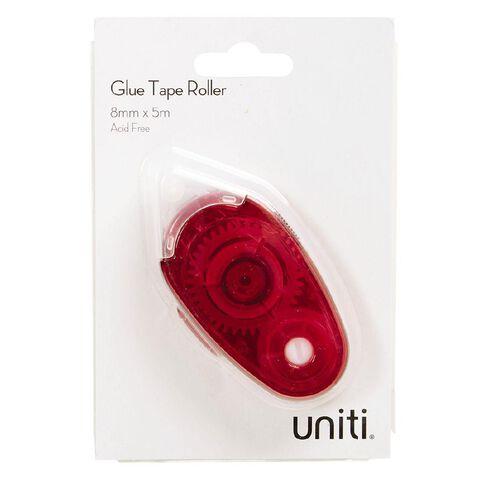 Uniti Glue Roller Red 1 Pack