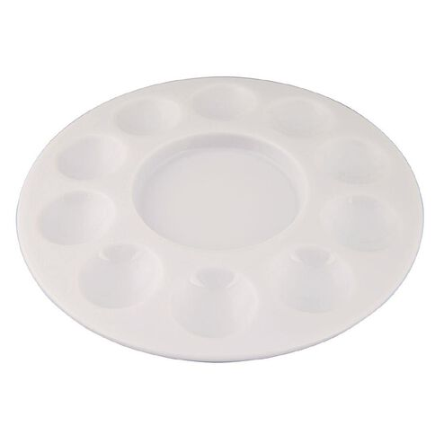 DAS Well Palette 10 Hole Plastic White