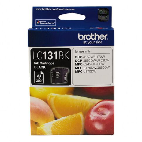 Brother Ink LC131 Black (300 pages)
