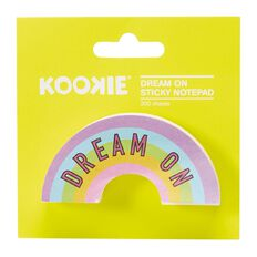Kookie Dream On Sticky Notepad 200 Sheets