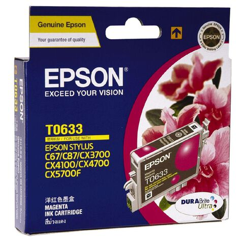 Epson Ink T0633 Magenta (380 Pages)
