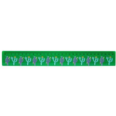 Kookie Cactus Ruler 30cm Green
