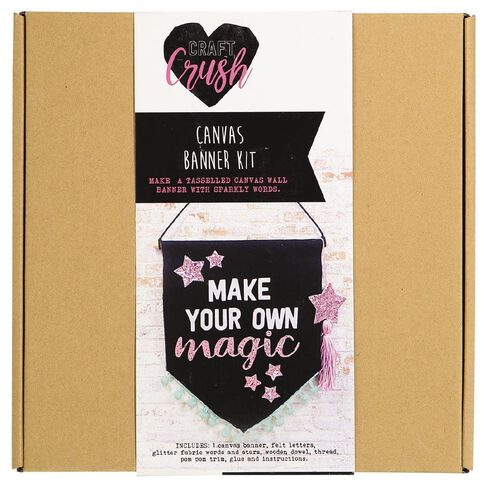 Craft Crush Canvas Banner Kit
