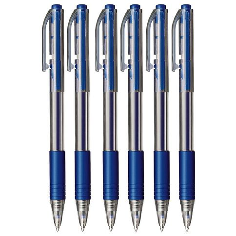 Impact Ball Pens Sprint Grip 50 Pack Blue