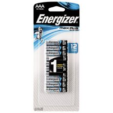 Energizer Max Plus Advanced AAA 10 Pack
