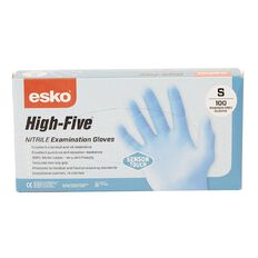 Esko High Five SensorTouch Nitrile Rubber Disposable Gloves 100 Pk Small