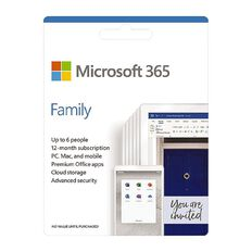 Microsoft Office 365 - Family Subscription
