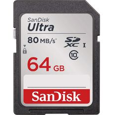 Sandisk Ultra 64GB SD Card Black