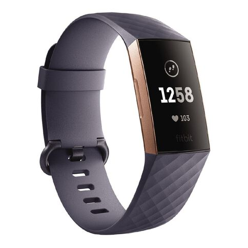 Fitbit Charge 3 Blue Grey