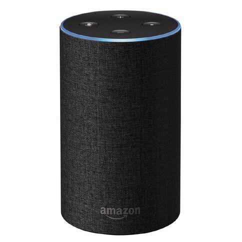 Amazon Echo 2nd Gen Smart Speaker Charcoal