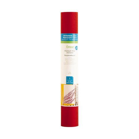 Cricut Vinyl Everyday Shimmer 12x48 Red