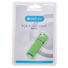 Tech.Inc 8GB USB Flash Drive Green