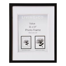 Living & Co Value Frame 8X10in or 11x14in Black