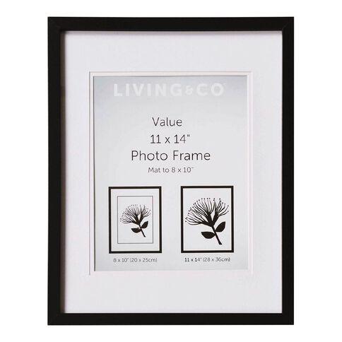 Living & Co Value Frame 8X10in or 11x14in Black