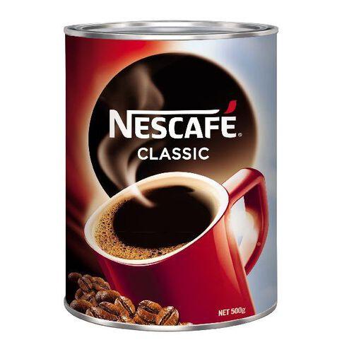Nescafe Coffee Classic Tin 500g