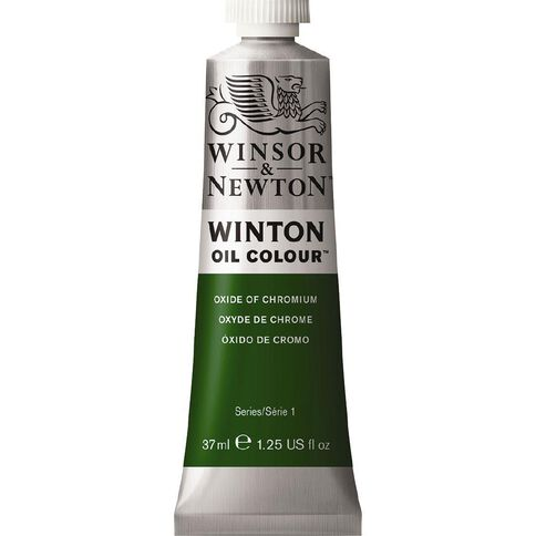 Winsor & Newton Winton Oil Paint 37ml Oxdide Chrome Charcoal