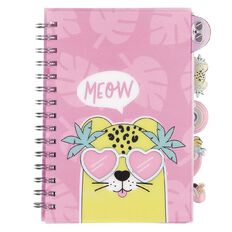 Kookie Paradise Pals PP Notebook With Shaped Tabs A5