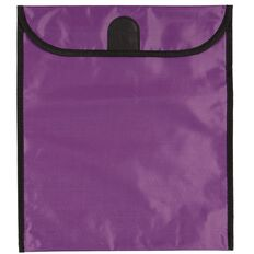 GBP Stationery Book Bag Purple 370mm x 335mm