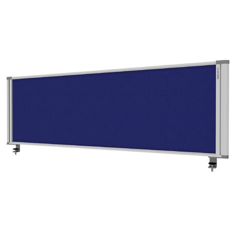 Boyd Visuals Desk Mounted Partition 1460W Blue