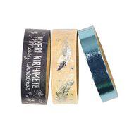 Uniti Summer Yule Washi Tape Blue 3 Pack