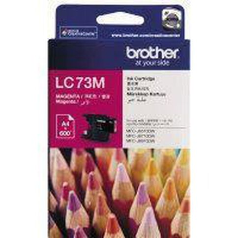 Brother Ink LC73 Magenta (600 Pages)