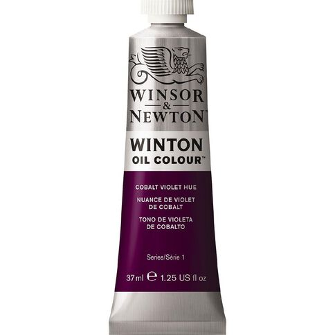 Winsor & Newton Winton Oil Paint 37ml Cobalt Violet Hue Purple