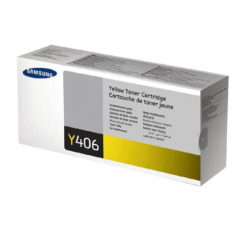Samsung Toner CLTY406S Yellow (1100 Pages)
