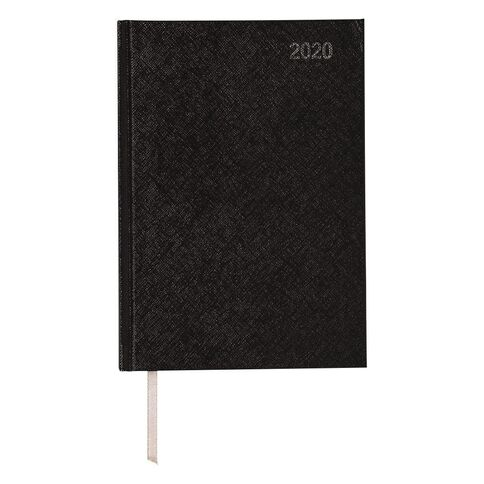 Impact Diary 2020 2 Day To Page Black A5