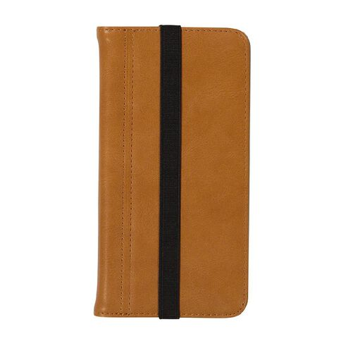 Tech.Inc iPhone 6+/7+/8+ Flip Case Brown