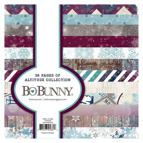 Bo Bunny Paper Pad 6 x 6 Assorted
