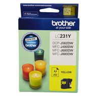 Brother Ink LC231 Yellow (260 Pages)