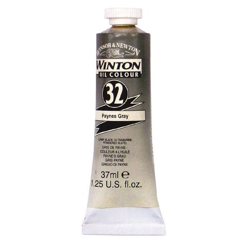 Winsor & Newton Winton Oil Paint 37ml Paynes Grey