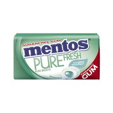 Mentos Pure Fresh Spearmint Tin 29g