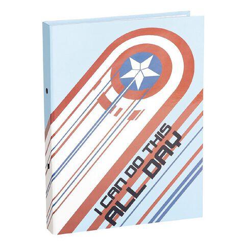 Avengers Ringbinder Captain America Shield A4