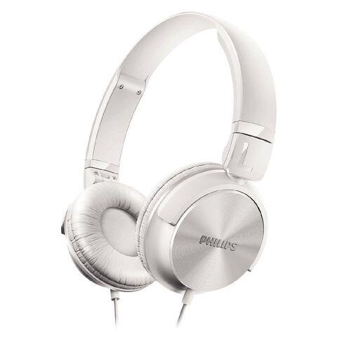 Philips DJ Style Headphones Shl3060 White