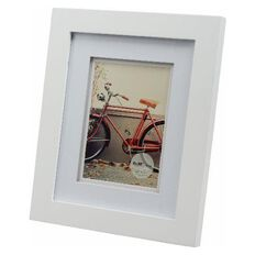 Living 8 x 10 Photo Frame White