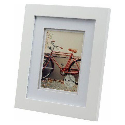 Living 8 x 10 Photo Frame White