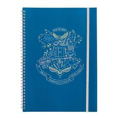 Harry Potter Warner Bros Softcover Notebook Black A4