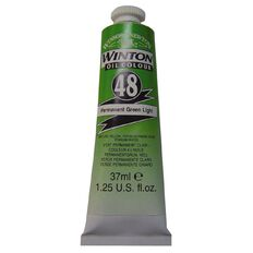 Winsor & Newton Winton Oil Paint 37ml Permanent Light Green
