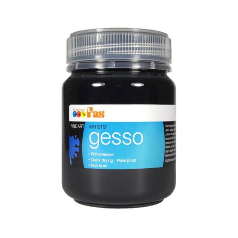 FAS Gesso Primer 250ml Black